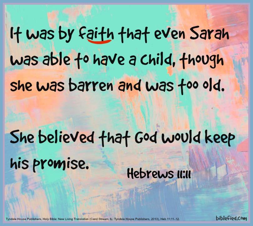 Hebrews 11:11