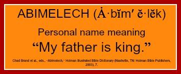 Abimilech