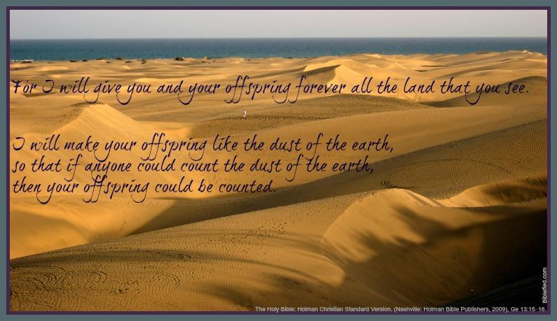 Genesis 13:15-16