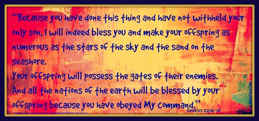 Genesis 22:16-18