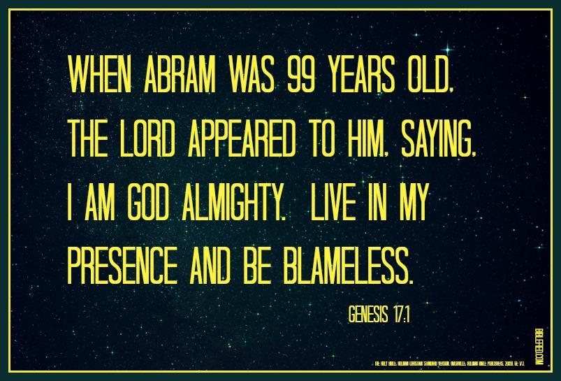 Genesis 17:1